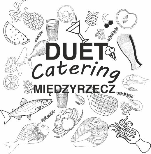 logo duet catering